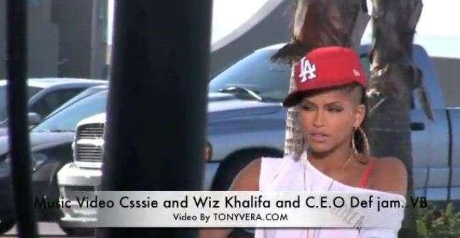 cassie in wiz khalifa roll up video. Wiz Khalifa amp; Cassie - Roll Up